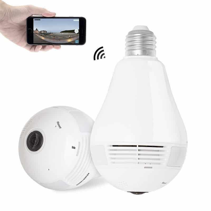 Light Bulb Shop Hong Kong: Voground New Panoramic Wifi 360 Degree Wireless Bulb Light